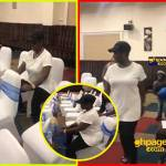 Emelia Brobbey quits Kumawood? Spotted tirelessly working in London, UK (Video)