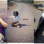 Celebrities Checkout how Mzvee sat on a street in Amsterdam just to take photos (Photos)