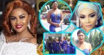 Jackie Appiah, Yvonne Nelson, Joselyn Dumas, others present at Becca's Traditional Wedding (photos)