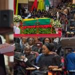 Nana Addo, JJ Rawlings, Bawumia – all photos from the funeral of Kofi Annan