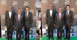 Billionaire Friends, Otedola And Dangote At FIFA Best Awards Tonight… Come And See MONEY!!! [Photo]