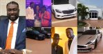 Magnificent mansion & cars of Sledge, the guy who bought the Reign Album for GHC150k