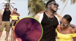 Exclusive Video: Medikal And Fella Makafui Kissing And Smooching In bed