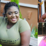 Video: Kumawood Actress Tracey Boakye Cries Like A Child As She Plays A Love Song In The Background–Has Her Man Left Her?