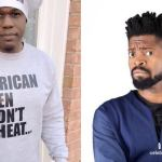 "Iceberg wears a shirt with ""African Men Don't Cheat"" written on it; Basketmouth reacts"