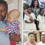 How many wives and kids does Segun Ogungbe have?