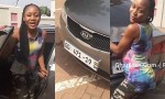 Video: Akuapem Poloo buys a New Car out of her 'foolishness' on social media