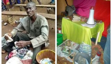 Pastor Caught With Bag Filled With female Underwear Edo State