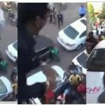 Shatta Wale Spray More Money On His Fans At The Premises Of Citi FM [Video]