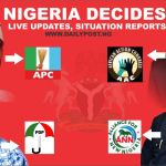 Nigeria Decides: Live Updates, Results and Situation Report of 2019 Presidential Election