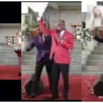 A pastor breaks an image of Jesus, steps on it, claims their is no Jesus