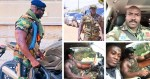 Meet the Ghanaian officer who's the strongest soldier in Africa, holding gun and walking in the bush