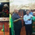 Kenya Politician commissions 'Mud House' he built for a widow