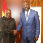 Liberia's George Weah Consoles Ghana Over Tragic Road Accidents