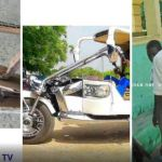 16 yrs Ghanaian boy made Similar V6 Motor Limousine Of Kantanka with motor, wires and paper.