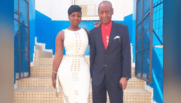 WOW: Like Mother Like Daughter, See Photo Of Princess Shyngle Parents