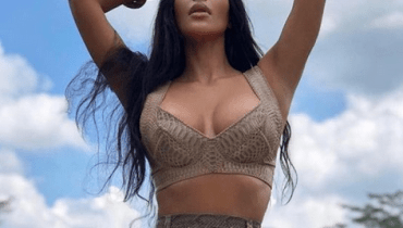 Lovely Photos Of Kim Kardashian In Bali