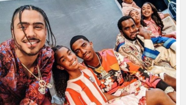 Checkout Cute Photo Of Diddy's Family With All His Children