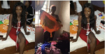 Video: Slay Queen Caught After Stealing Valuables From A Birthday Party In Edo State