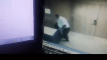Checkout CCTV Footage Of A Man Stealing Bag From Transcorp Hilton Hotel in Abuja [VIDEO]