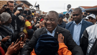 Breaking News: Cyril Rama Re-Elected As South African President