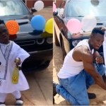 Shatta Bandle bought a new car for his bouncer worth 45,000 million US Dollars