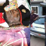 Photos: Nigerian Cultist Who Was Shot Dead Few Days To His Graduation, Buried Dressed In Cultist Regalia