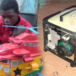 Ghanaian Boy Manufactures Generator that is powered by cooking oil