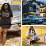 Tracey Boakye's Mansion In Accra Full Of Cars