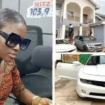 Medikal And Fella Makafui Flaunt Their Cars And Huge Mansion