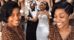 Kennedy Osei's Wife, Tracy Shares No Makeup Photos And Video After Her Honeymoon