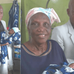68-year-old woman gets pregnant for the first time and gives birth to twins
