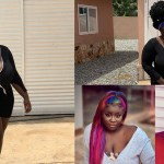 Photos : Maame Serwaa Serves her Fans With her Big Boobs in New Photos as she advises them to Stay home