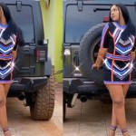 Good Living! – Shatta Michy Flaunts Super Expensive G-Wagon – Video