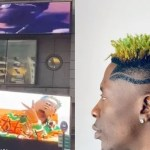 Shatta Wale Busted For Lying About Being Featured On A Giant Billboard At The New York Times Square