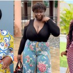 Maame Serwaa finally explains how she developed her massive 'watermelons' on her chest (video )
