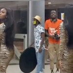 Wendy Shay disgraces herself as She Struggles to Walk in her New High Heels at a Video Shoot