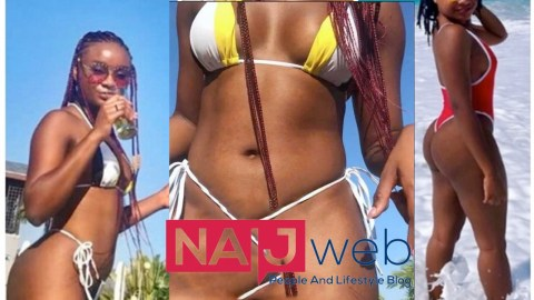 Kennedy Agyapong's Daughter Anell Serves It Hot; Shows The Size Of Her 'T00to' In Latest Photo