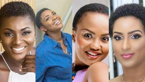 13 Female Ghanaian Celebrities Who Look Stunning & Super S3xy In Short Hairstyle (Photos)