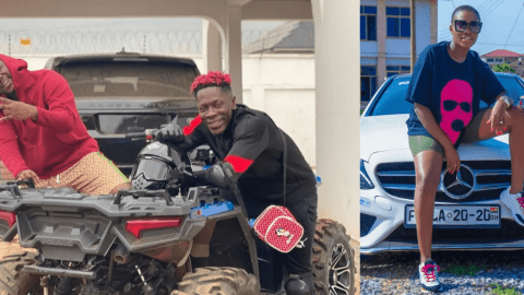 Shatta Wale Just Confirmed Fella Makafui Is Pregnant?