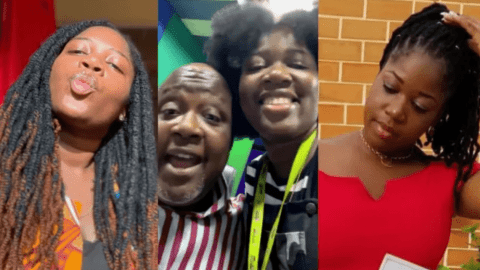 Meet Fafa, Kwame Sefa Kayi's daughter he had with actress Irene Opare