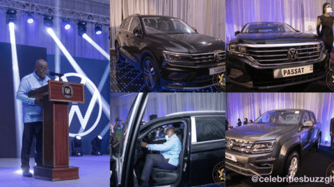 Nana Addo Unveils First VW-Assembled Cars In Ghana