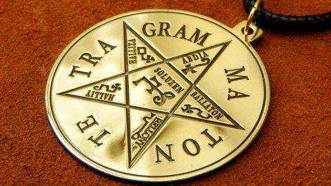 Tetragrammaton Pendant For Spiritual Protection