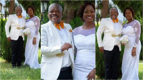 "Beautiful Wedding Photos of Kwame Dzokoto ""Judge Koboo"" and His Beautiful Wife"