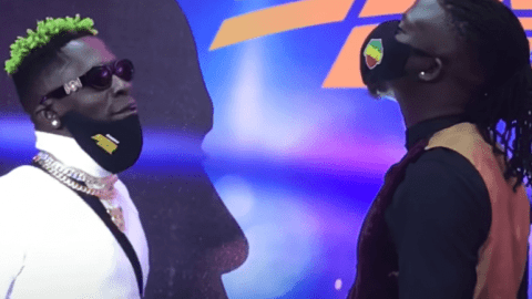 Shatta Wale causes confusion as he crowns himself the winner of Asaase Radio's clash against Stonebwoy