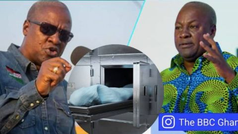 Video: NDC to build over 300 mortuaries in Zongo communities after winning elections – John Mahama