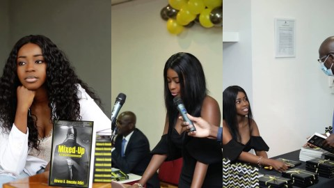 "The ""MIXED-UP"" Novel Launch by Lawyer Adwoa A. Amoako Adjei"