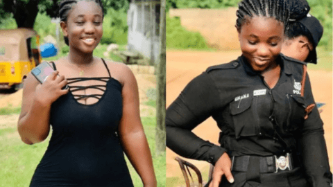 The Police Officer You Would Love to Arrest You – Ama Serwaa Shuts Down Social Media with her Curves