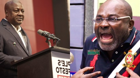 You Bought Benz For Your Son But You Want People To Ride Okada – Kennedy Agyapong Jabs Mahama