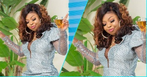 Afia Schwarzenegger Shades Unknown Person In Post